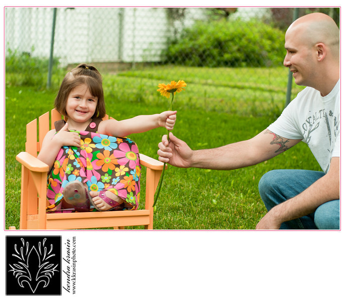 A flower for Daddy